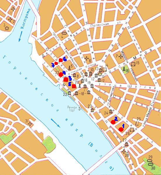 Карта Города Златоуста С Улицами И Номерами Домов