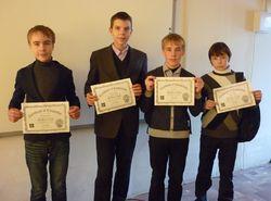 Команда Смайлики. Час кода. Сертификаты 8 класса.JPG