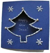 Открытки с новым годом своими руками по